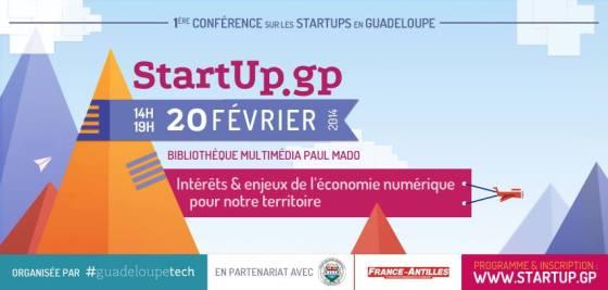 1ère Conférence des Startups de Guadeloupe
