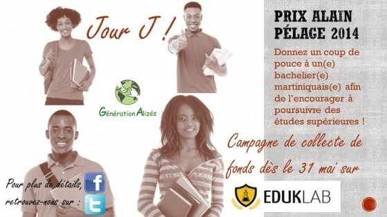 Campagne du Prix Alain Pélage sur Eduklab : c'est parti !