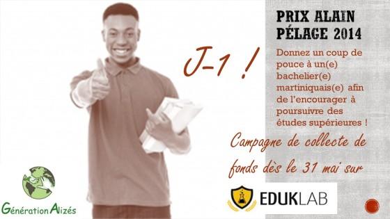 Campagne de Crowdfunding du Prix Alain Pélage : J-1 avant le lancement !