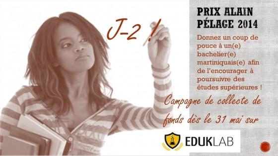 Campagne de Crowdfunding du Prix Alain Pélage : J-2 avant le lancement !